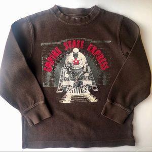 Gymboree Train Heavyweight LS Shirt (Boys 6)